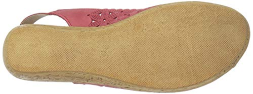 Malana Womens Step Red Nubuck Spring AP0qzSx