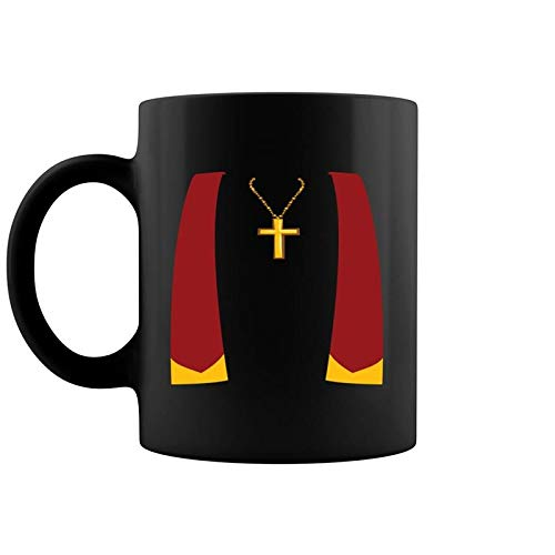 Exorcist Halloween Costumes (Priest Halloween Costume Exorcist Exorcism Coffee Mug 11 & 15)