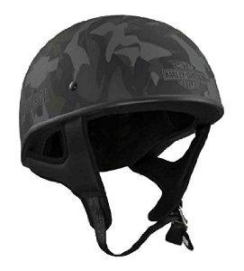 Harley-Davidson casco de camuflaje de la mitad de perfil bajo para hombre