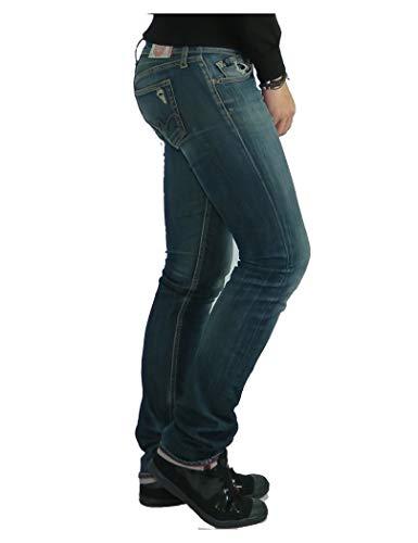 Temps Jf210elbw153 Des Azul Le Ajustado Jeans Mujer Cerises Regular SAWWC1qx