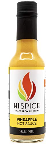 HI Spice Crafted on Maui Hot Sauce (Pineapple, 5 Ounce)