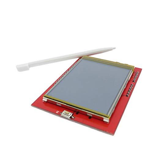 Tamkyo LCD Modul Tft 2,4 Zoll Tft LCD Bildschirm F/ür Board R3 Und Support Mega 2560 Mit Presse Feder R3