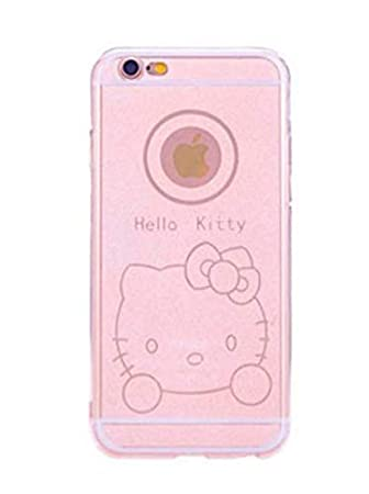 Desconocido Funda de Gel para iPhone 6, iPhone 6s Hello ...
