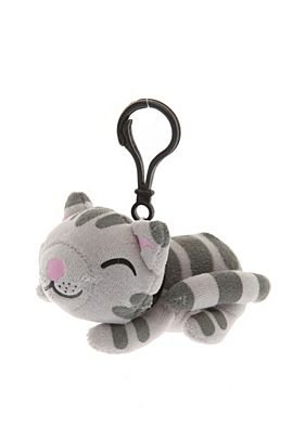 Big Bang Theory - Soft Kitty Backpack Clip Keychain 5 x 3in