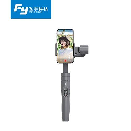 Gimbal Stabilizer for Smartphone Feiyu Tech Vimble 2 Extendable Handheld 3-Axis Gimbal Stabilizer for Smartphone Gimbal for iphone and Samsung (Silver grey)
