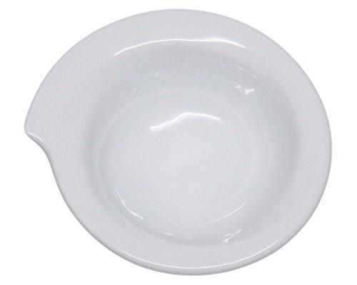 "(Set of 6) Amatahouse Elegant Canape Sea Shell Shaped bowl Soy Sauce Dish Dipping Bowls Royal Porcelain Classic White 3.5"" #P4323"