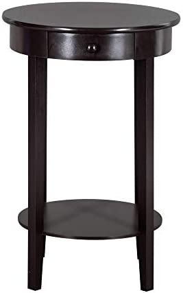 EBLSE Simple Round Side Coffee Table - a good cheap living room table