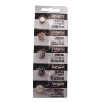 Energizer 390/389 Silver Oxide Cd/5 (389 Battery compare prices)