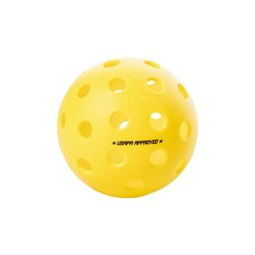 ONIX Fuse Outdoor Pickleball Balls  Six Pack