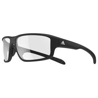adidas Kumacross 2.0 Non-Polarized Iridium Rectangular Sunglasses, Black Matte, 64 mm
