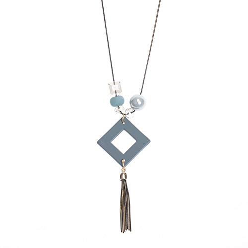 Women Maxi Necklaces&Pendants Statement Long Sweater Costume Necklace with Pendant for Women Cute -