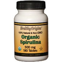 Healthy Origins Spirulina Og1 500Mg 360 Tab