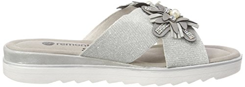 Plateado Para silber silber Mujer D1161 Mules Remonte wEHOqIpW