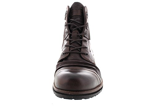 Brown Yellow Tear Boots Dark 15431 Cab qXvTXrwHBR