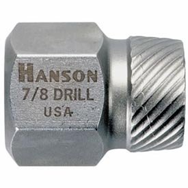 Hanson 53202 Hex Head Multi-spline Screw Extractor - 5/32