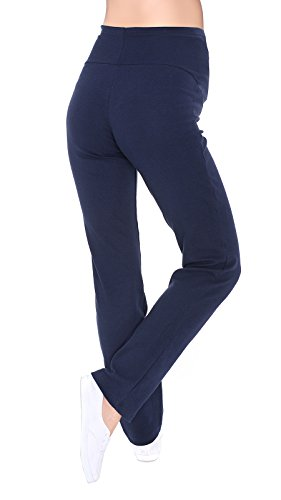 3010 yoga over comodi Pantaloni premaman blu navy bump casual Mija qw0BAOw