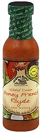 Virginia Brand Salad Dressing Vidalia Onion, Honey French Royale 12 OZ (Pack of 18)