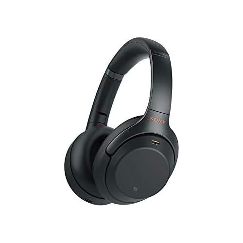 chollos oferta descuentos barato Sony WH1000XM3 Auricular Noise Cancelling Bluetooth sonido adaptativo compatible con Alexa y Google Assistant 30h de batería óptimo para trabajar en casa llamadas manos libres negro
