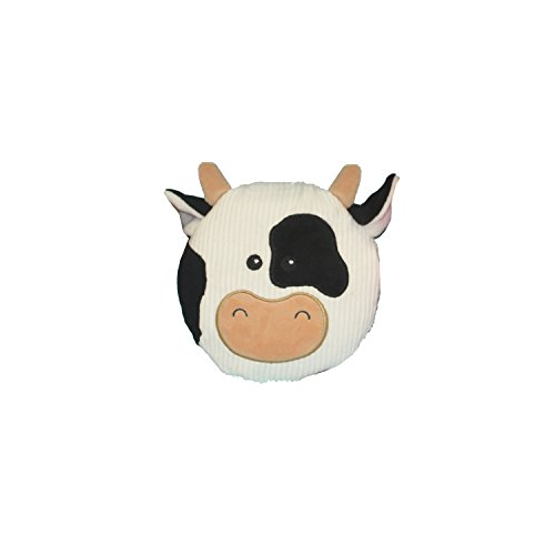 Multipet 43206-1 Sub-Woofer Squeaking Cow Toy, 7