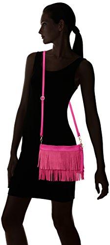 Girly HandBags Gina - Bolso bandolera Mujer Rosa - rosa