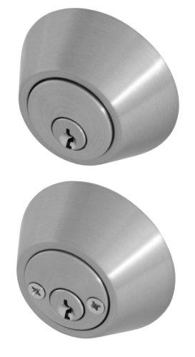 Honeywell 8112309 Double Cylinder Deadbolt, Satin Nickel ()