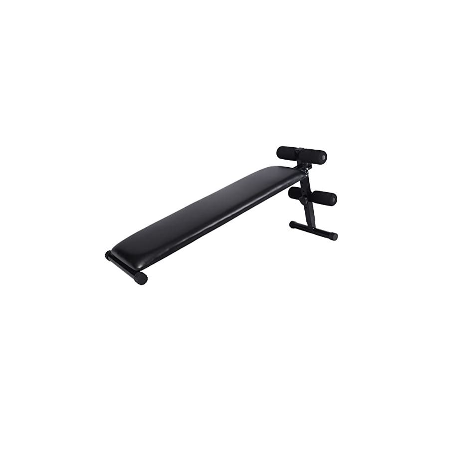 Generic Adjustable Decline Sit up Bench Crunch Board Slant Fitness Fit Home Gym Exercise
