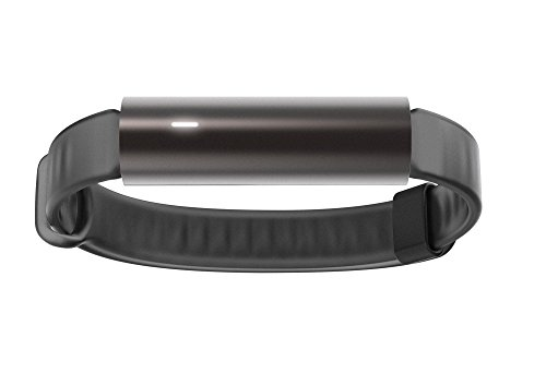 Misfit Ray – Fitness + Sleep Tracker with Black Sport Band (Carbon Black)