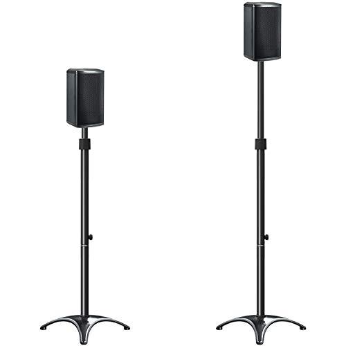 Mounting Dream Height Adjustable Speaker Stands Mounts