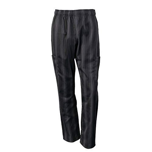 Chef Code Chef Pants, Charcoal/Black, 4X-Large