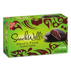 Back To Nature, Snackwell's, Devil's Food Cookies, 6.75oz Box (Pack of 6)