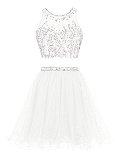 Heimkehr Two Fanciest Cocktail Ballkleid Ivory Pieces 2016 Dress Abendkleider Kurz g4qwqaUYcf