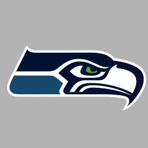 Seahawks Die Cut Decal - Seattle Seahawks Die Cut Decal 4x4