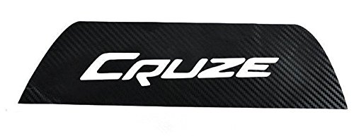 Carbon Fiber Brake Light Decoration Sticker Decals Accessories Nice Emblem for Chevrolet Cruze