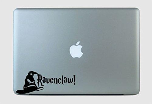 SimplyVinylized Harry Potter Inspired Ravenclaw! Sorting Hat Vinyl Decal Sticker White