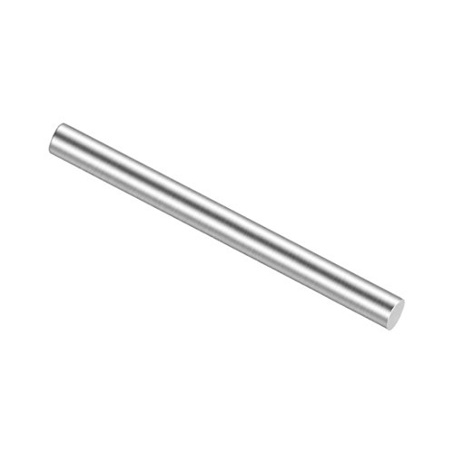 - uxcell Stainless Steel Solid Round Rods Metal Lathe Bar Stock for DIY Craft 40mmx1.5mm 20pcs