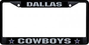 RICO INDUSTRIES, INC. NFL Black Metal License Frame Cowboys