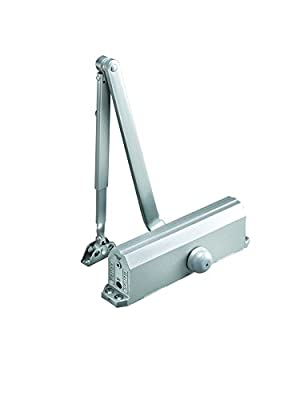 Norton Door Controls 1604BC x 689 1600 Series Door Closer, Cast Aluminum Body, Size 4, Aluminum Finish