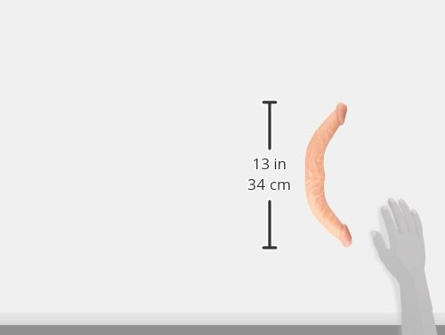 Nasstoys All American Whoppers Curved Double Dong, 13 Inch