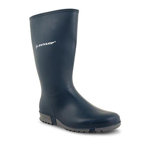 Boots Womens Wellington Dunlop Snow Rain Shoes Waterproof Wellies Ladies Navy UK Sizes 0wnaAU