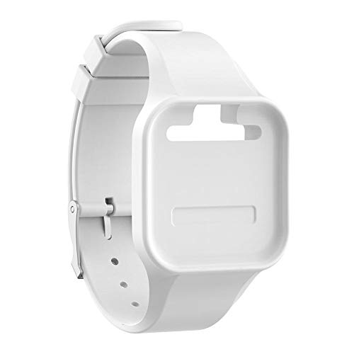 Widewing Silicone Watch Band Bracelet Strap for Golf Buddy Voice/Voice 2 GPS (White)
