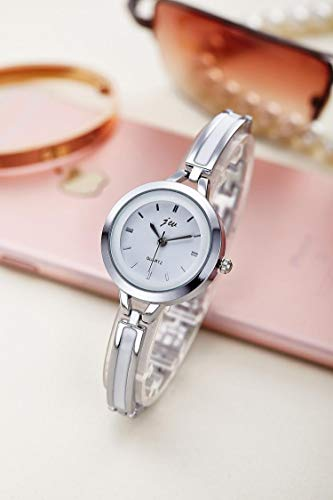 Amazon.com: BranXin - New and New Fashion Rhinestone Watches Women Luxury Brand Stainless Steel Bracelet watches Ladies Quartz Dress Watches reloj mujer ...