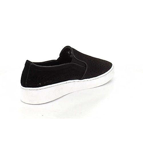 Zapatillas Slip Alta Calidad On Negras Para Mujer Perf 10 Midi De M H29WEDIY