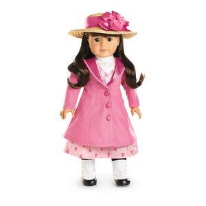American Girl Samantha Travel Coat & Hat