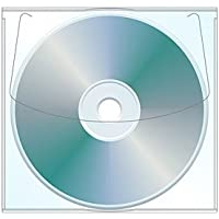 Adhesive CD | DVD Sleeve - Box of 1000