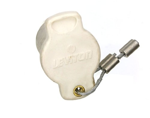 Leviton 16P22-W 16 Series Female, Protective Cap, Commercial Grade, Cam-Type Connector, White