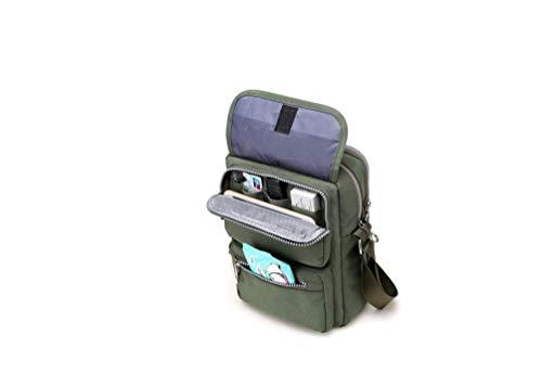 Large Waterproof Nylon Shoulder Green Tote Bag Messenger Sling School Lady Tote Bag Women's Bag Popoti for Bags Backpack Handbag Carrying Pockets Crossbody Black Capacity Bag Shopping Bwz4t