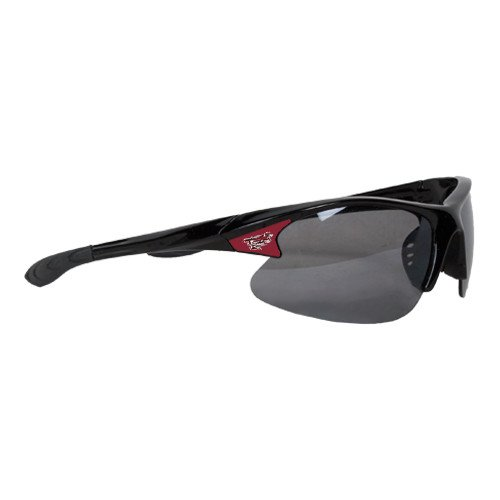 Ramapo Mens Black Sporty Sunglasses 'Official Logo' by CollegeFanGear