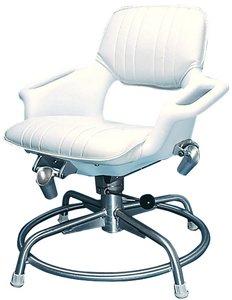 Todd Enterprises 700103 TRACY PROFISHING SEAT WHITE TODD PRO-FISHERMAN SEAT PACKAGE