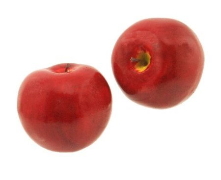 artificial Decorative Faux Fruit for Home Decor - 90 mm Red Apple