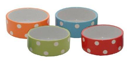 - Rayware Ltd Brights Polka Dot Small Pet Bowl Red